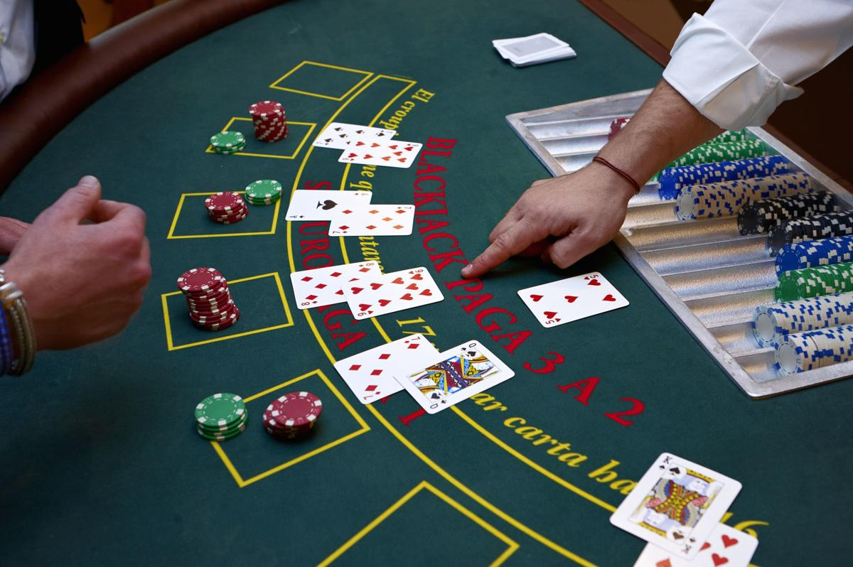 Card values in online blackjack